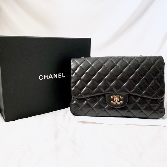 a394b0a618ed CHANEL Bags | Flash Sale 1 Day Jumbo Classic Flap Bag | Poshmark